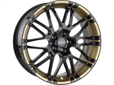 Oxigin 14 Oxrock black foil gold metallic 8.5x19 ET35 - LK5112 ML72.6